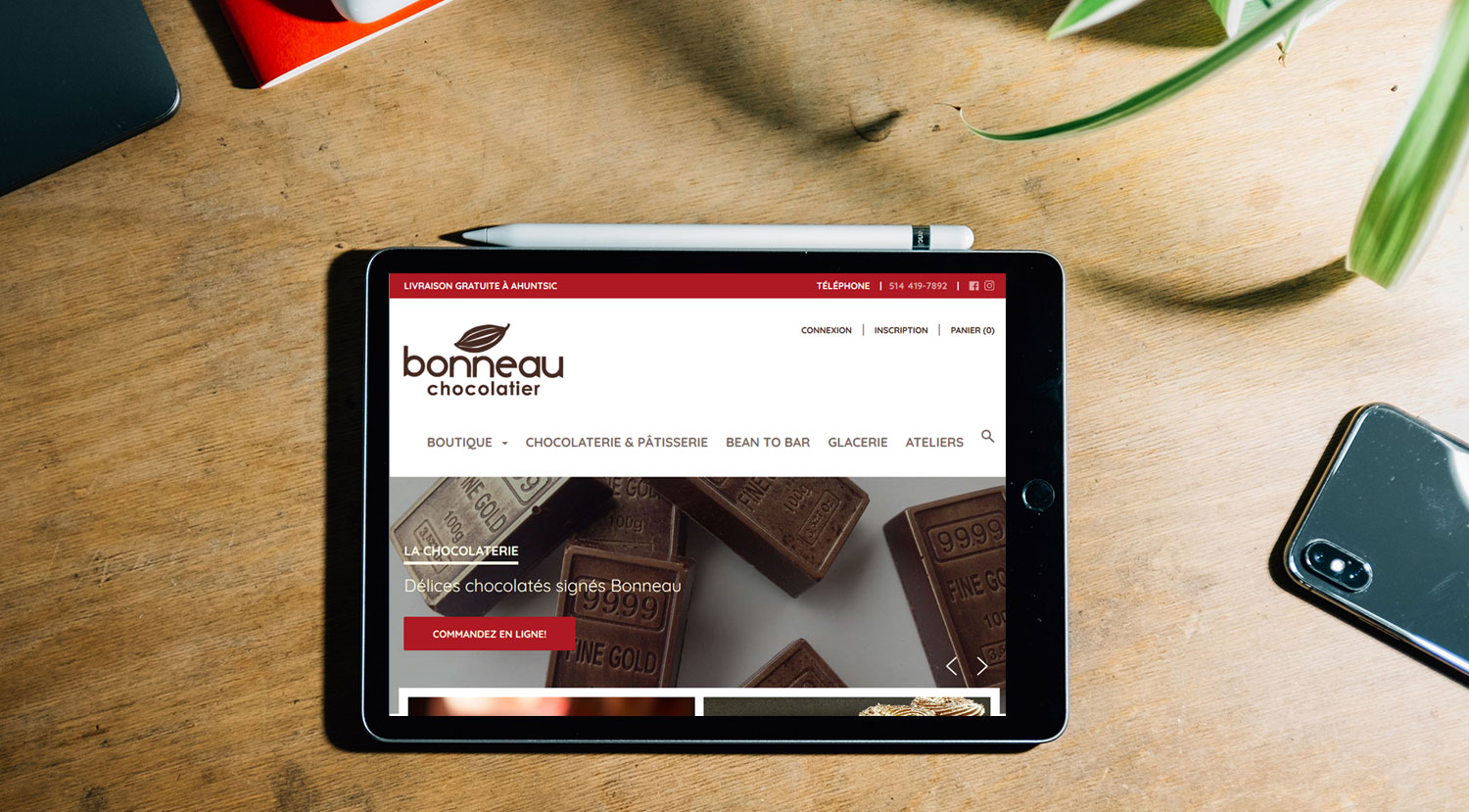Chocolaterie Bonneau – Boutique en ligne